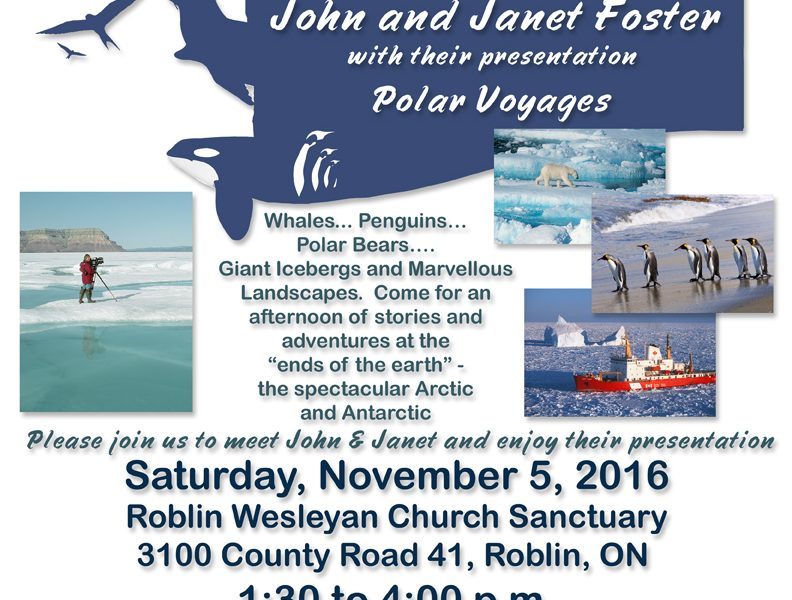 Polar Voyages J&J Foster 2016